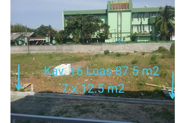 Rp442jt Tanah Dijual