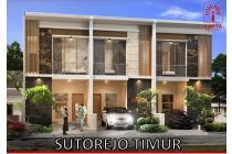 Rumah Baru Bangun Gress Sutorejo Timur, ada 3 Rumah (142a)