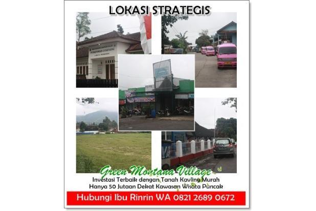 Investasi Tanah Kavling Murah Green Montana Village Puncak Jawa Barat 16224762