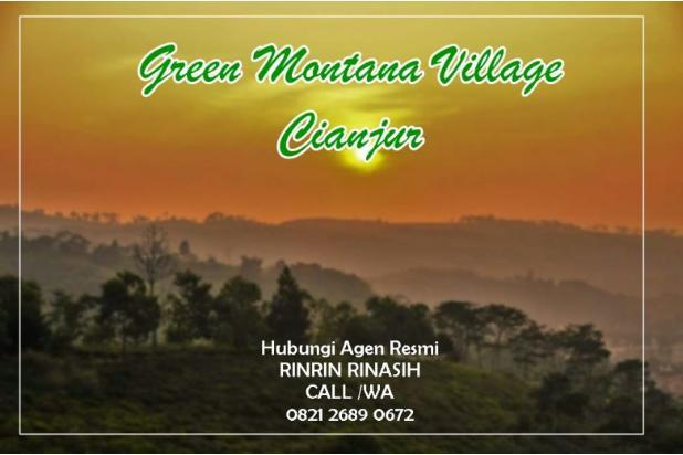 Investasi Tanah Kavling Murah Green Montana Village Puncak Jawa Barat 16224763