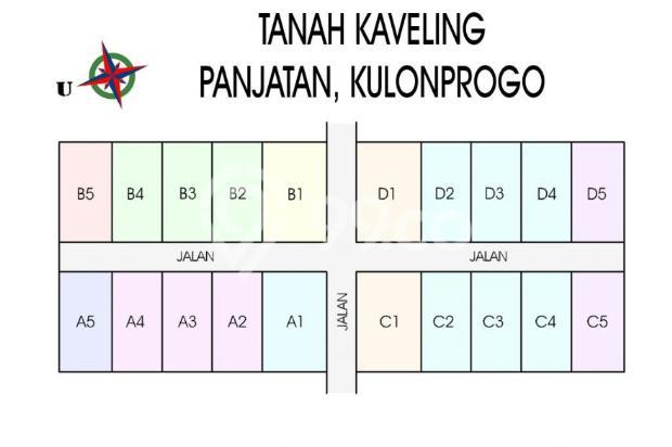 Mangku Aspal: Kavling Green Panjatan, Luasan 140an M2, SHM-P 15145383