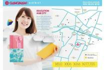 Dijual Perdana Apartemen Mewah Fasilitas Lengkap di Gangnam District Bekasi