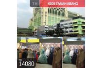 Kios Tanah Abang, Blok A, Jakarta Pusat, 3,70 m², HGB