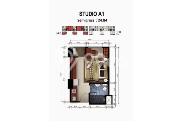 DIJUAL CEPAT!!! Apartemen unit Studio Grand Dhika City Jatiwarna 12749422