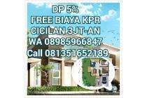 rumah dijual murah di karawang barat, bebas banjir, free biaya KPR