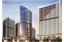 Apartemen Tokyo Riverside PIK 2 Tipe Studio Lantai Rendah Tower Akihabara