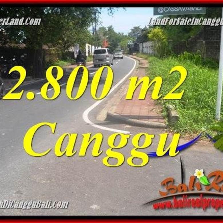 Tanah cantik view Link villa di Canggu Batu Bolong   CGH223