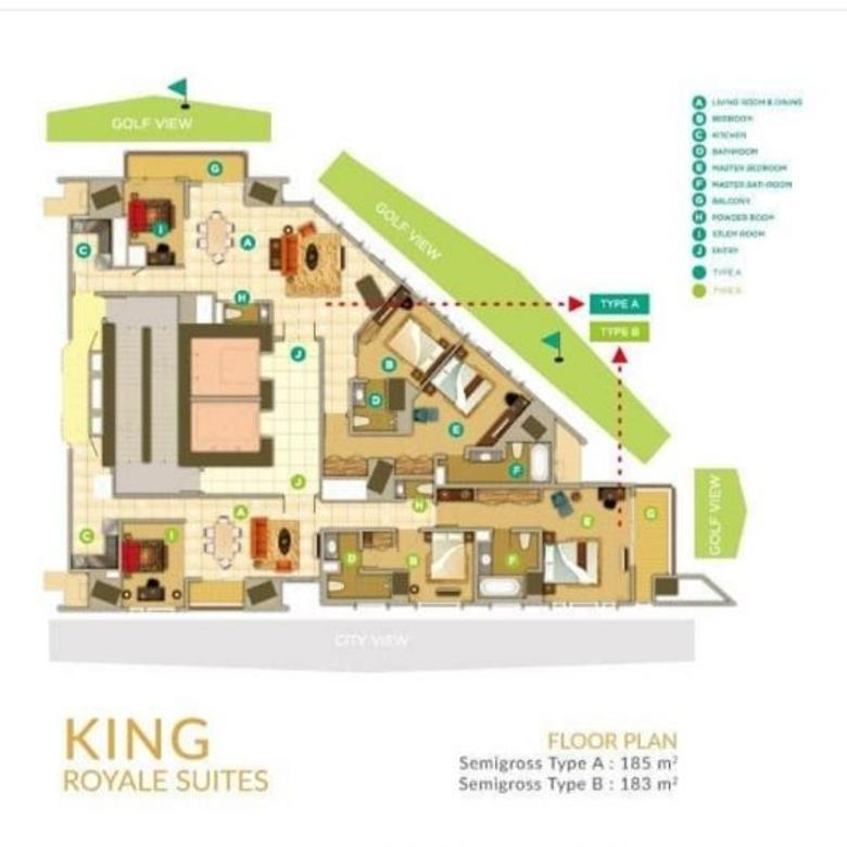 KEMAYORAN SPRINGHILL KING AND QUEEN ROYAL SUITES