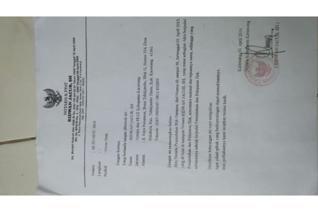 Dijual Tanah 500 hektar 1 pemilik daerah karawang 5409536