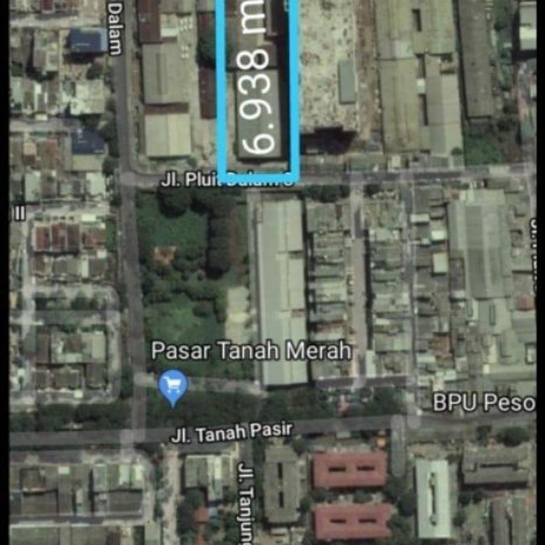 Dijual Tanah Komersial Luas 6.938 m2 di Penjaringan, Pluit, Ja