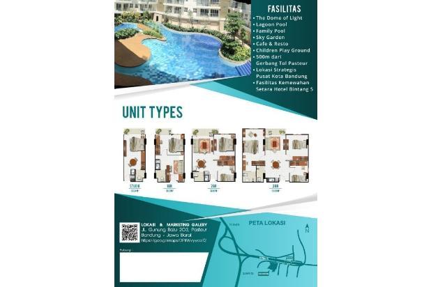 Rp652jt Apartemen Dijual