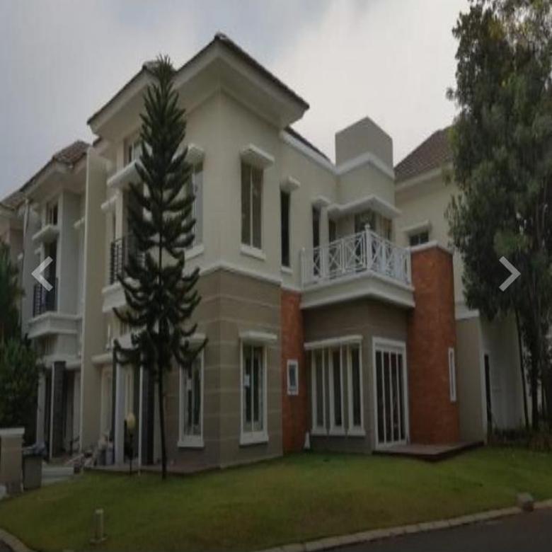 Dijual Cluster Jade, Pondok Hijau Golf, Gading Serpong, Tangerang Selatan