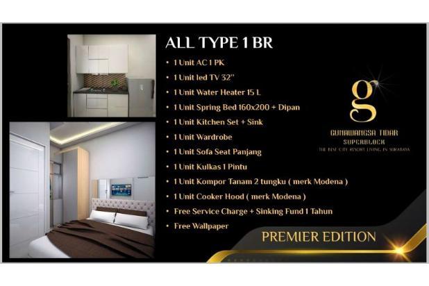 Rp341jt Apartemen Dijual