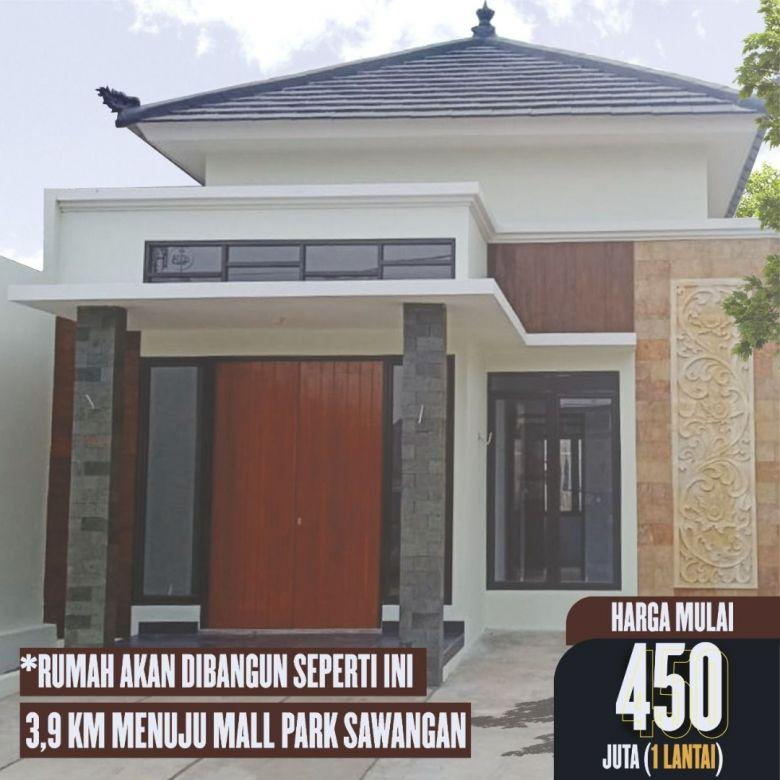 Hunian Asri Nuansa Bali Di Sawangan Depok