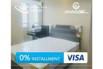 SpringHill Terrace Residence 2BR City View (bisa cicilan 12x)
