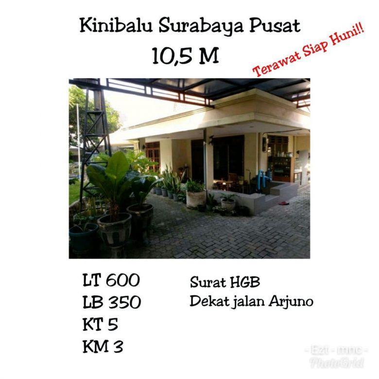 Rumah Kinibalu Sawahan Surabaya Pusat Siap Huni Nego