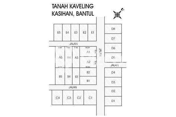 Kapling Tanah Green Sendangsari, Bisa Kredit Bank 15144830