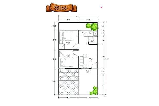 rumah harga minimalis kawasan green living