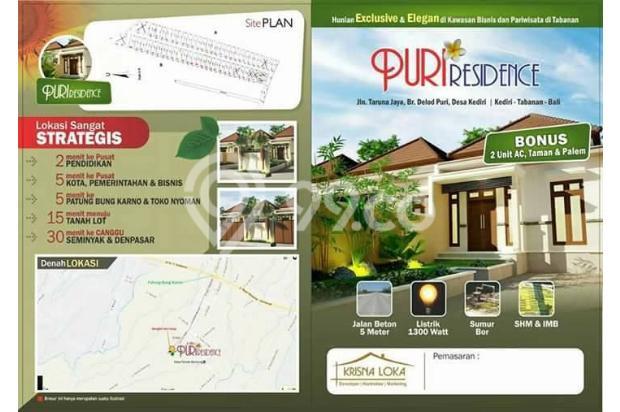 Rumah Murah Siap Huni dan Inden di Tabanan 16824314