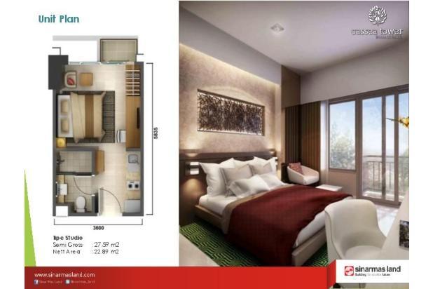 Rp719jt Apartemen Dijual