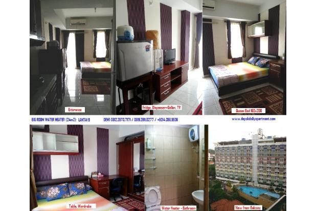 Sewa Harian Apartemen Margonda 2 Depok - lengkap Water Heater