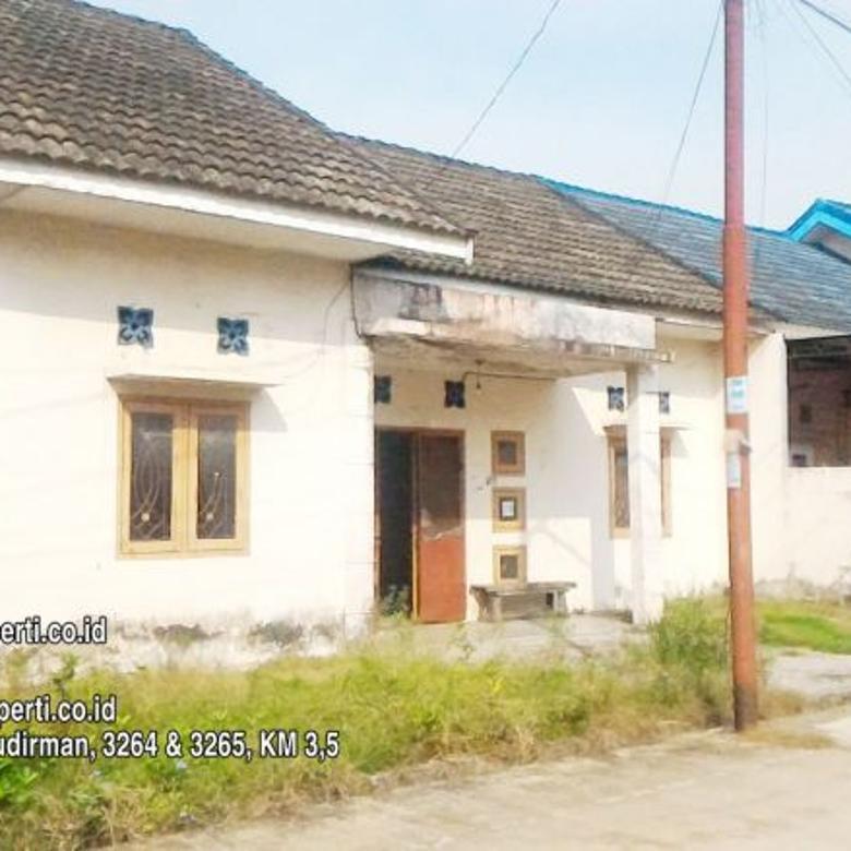 Dijual Rumah 3 Kamar Tidur Strategis di Bukit Besar Palembang