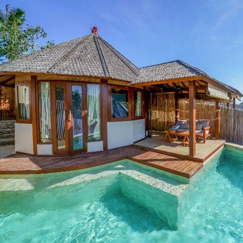 Cliff Villa di Bali Harga 2 M an