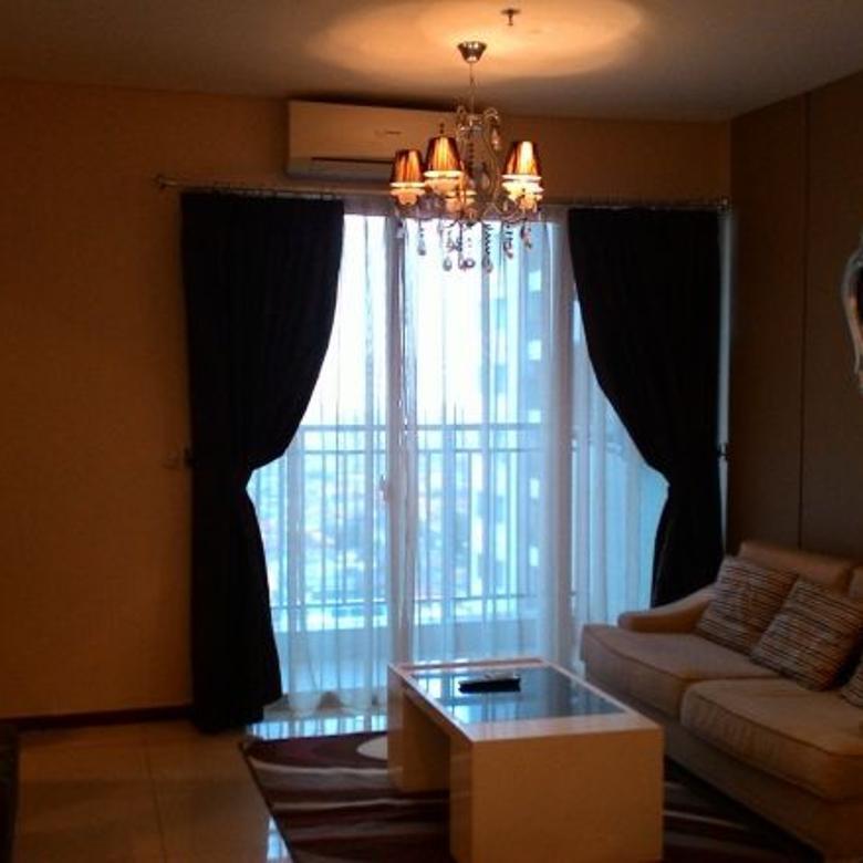 Desain Ruang Tamu Untuk Ruko  thamrin residences apartemen 3 kamar tidur furnished bagus