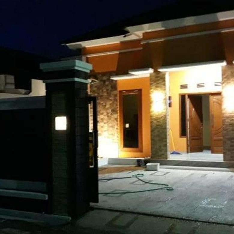 Rumah bangunan baru yang aman dan nyaman