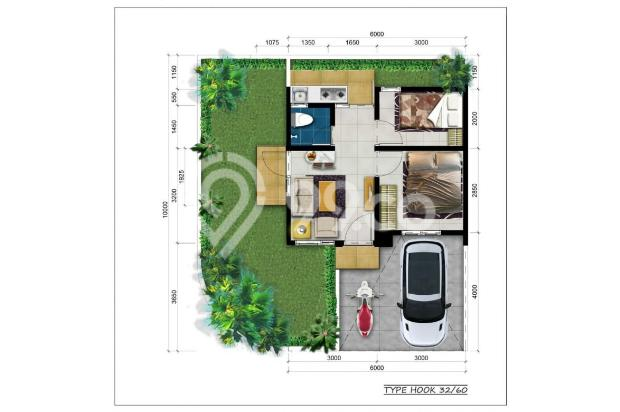 rumah cluster karawang barat, cicilan hanya 120 ribu perhari 16010164