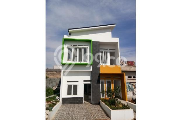 TOWNHOUSE TERMEWAH di Depok Timur Fasilitas Smarthome, BONUS AC+KITCHEN SET 18274194