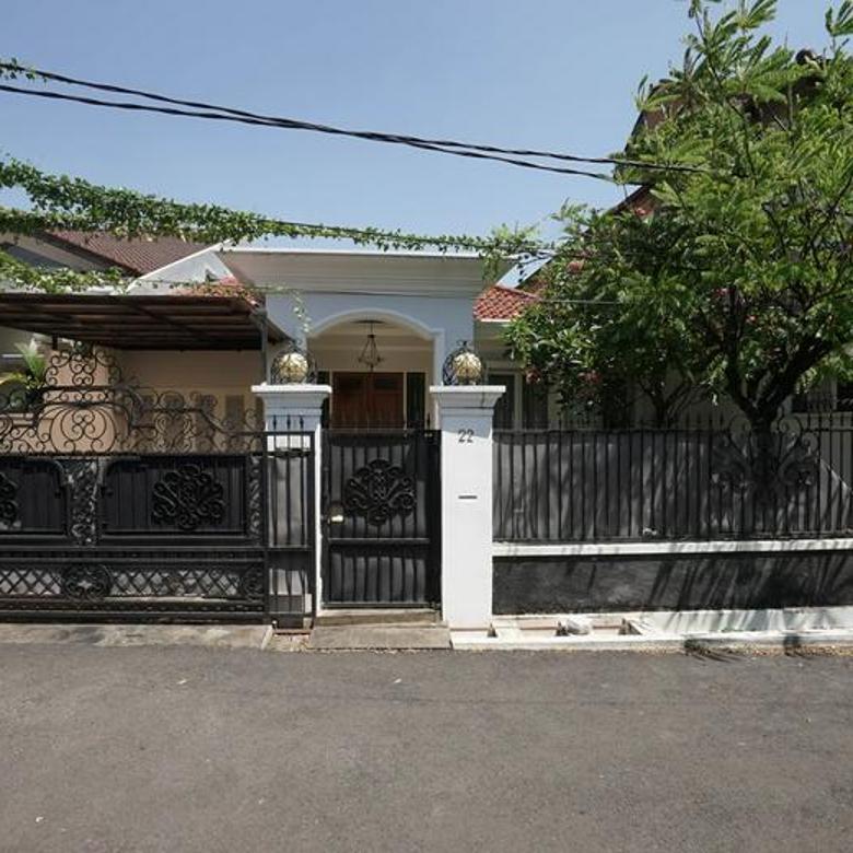 Rumah siap huni di mampang prapatan komplek 24 jam security