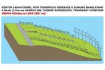 Tanah di Cibiru Cocok untuk Cluster