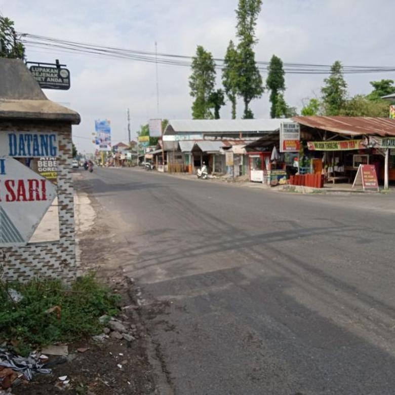 Tanah Kavling Area Kampus UII Tapat Bangun Kost, Lebar Jalan