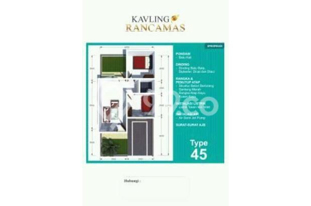 Rumah kavling type 45/70 termurah di kawasan nya 15205717