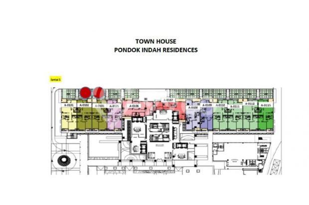 Townhouse Pondok Indah Residences Amala tower Limited Stock 15423324