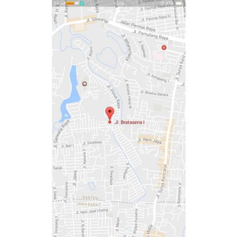 Di Jual Tanah Dan Bangunan Rumah Di Jl Bratasena-Bogor (Furniture)