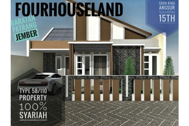 Rumah Dengan Desain Modern di Baratan Patrang Jember 13962111
