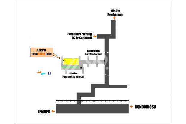 Rumah Dengan Desain Modern di Baratan Patrang Jember 13962118