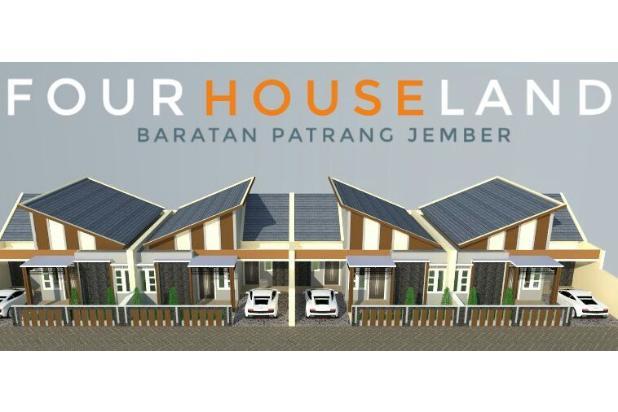 Rumah Dengan Desain Modern di Baratan Patrang Jember 13962164