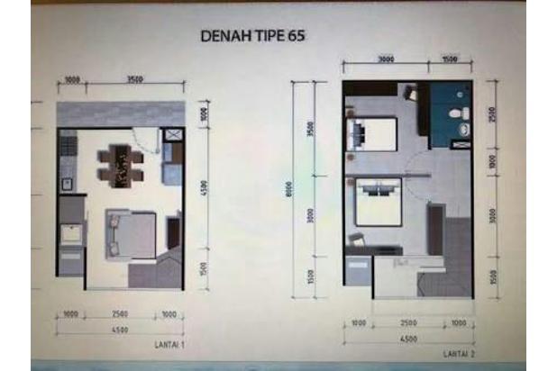 Rp23jt/thn Apartemen Disewa