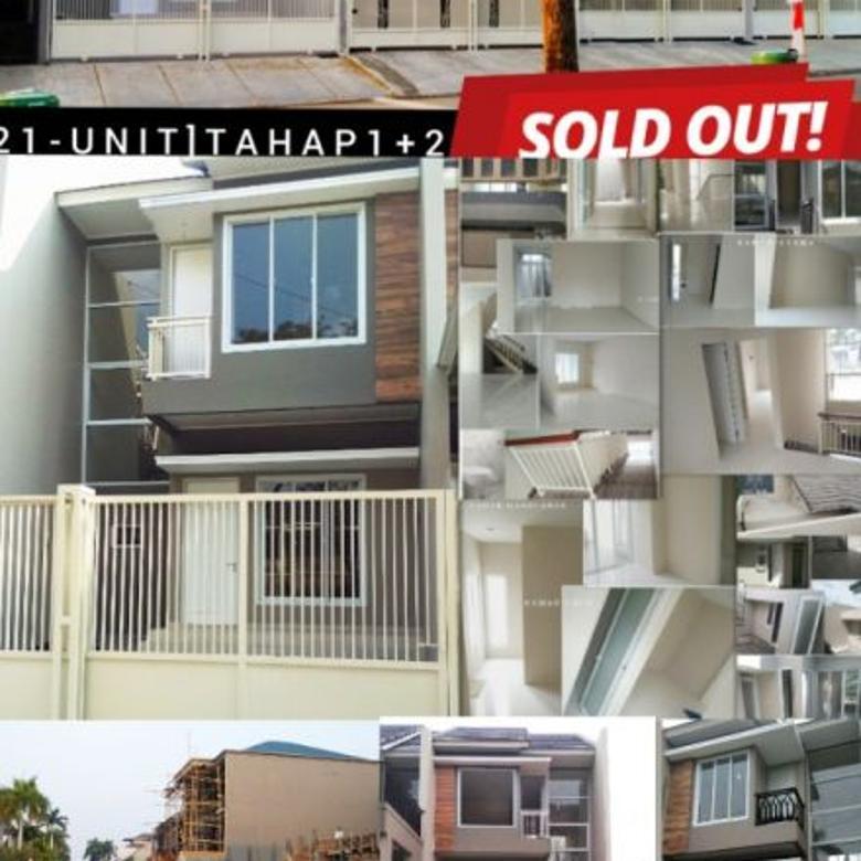 Villa Melati Mas Rumah Baru Siap Huni Dekat Athalia dan Binus