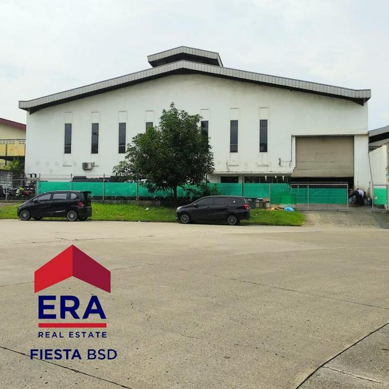 Kawasan Gudang Elite Di Taman Tekno BSD Tangerang (DRL)