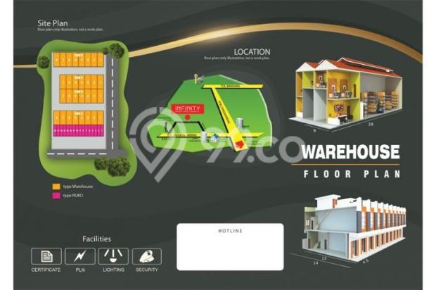 Dijual Gudang Infinity , Pasar Kemis 4692112