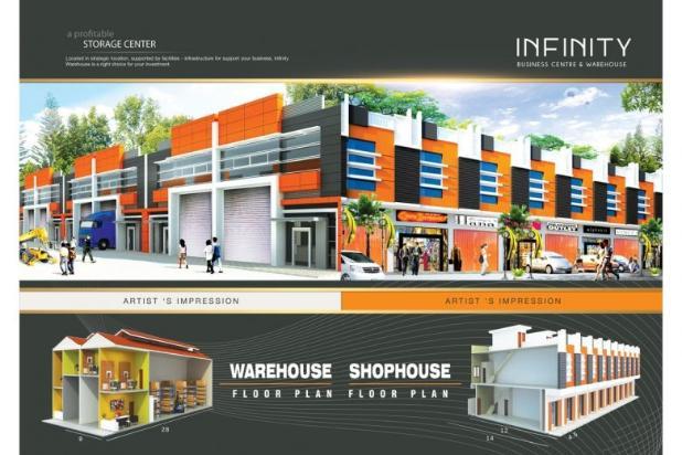Dijual Gudang Infinity , Pasar Kemis 4692115