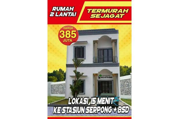Rp38,5jt Rumah Dijual