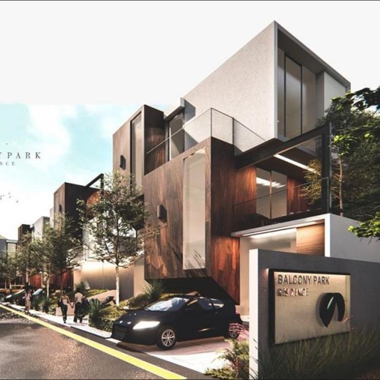 Rumah Baru di Antapani 3 Lantai dekat griya antapani