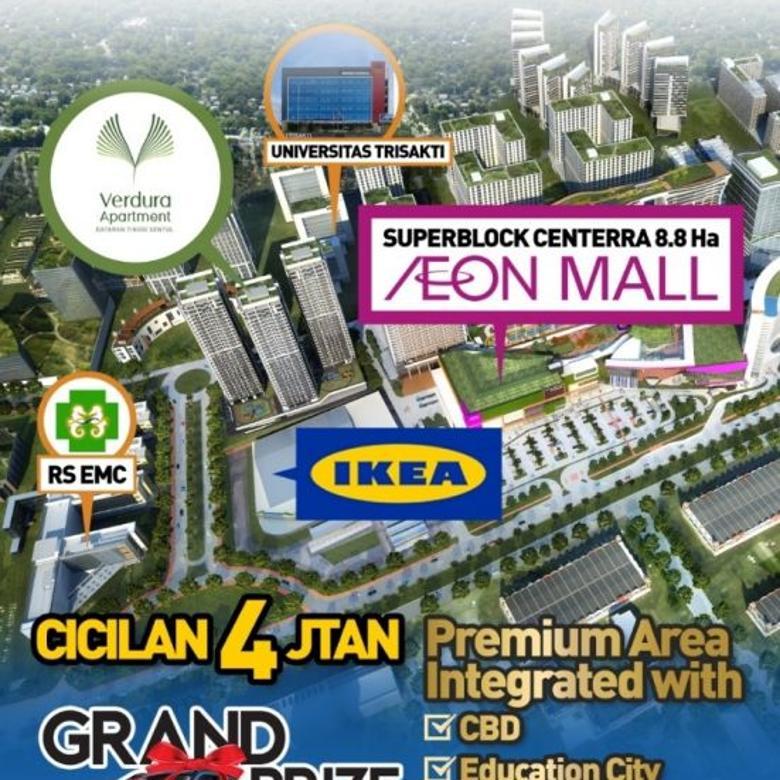 shopping arcade apartemen VERDURA SENTUL CITY persembahan PP p