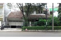 Dijual Rumah Lama 2 Lantai SHM di Pinggir Jln Bintaro Jaya Sektor 9 Tangsel
