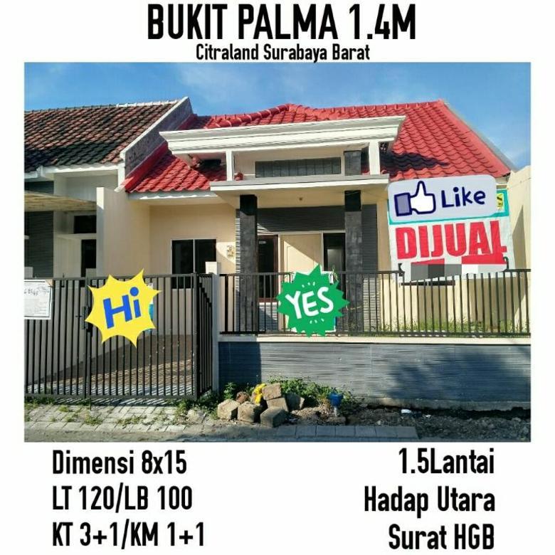 Rumah bukit palma citraland siap huni minimalis nego terawat